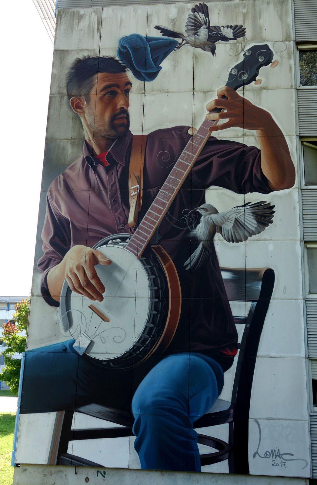 Street Art : Graffitis & Fresques Murales 38421 Saint Martin d'Heres