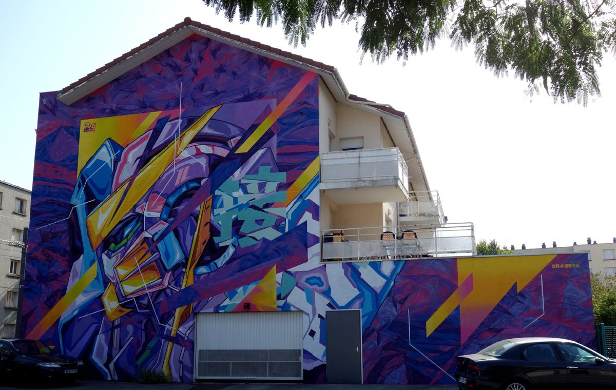 Street Art : Graffitis & Fresques Murales 38169 Fontaine
