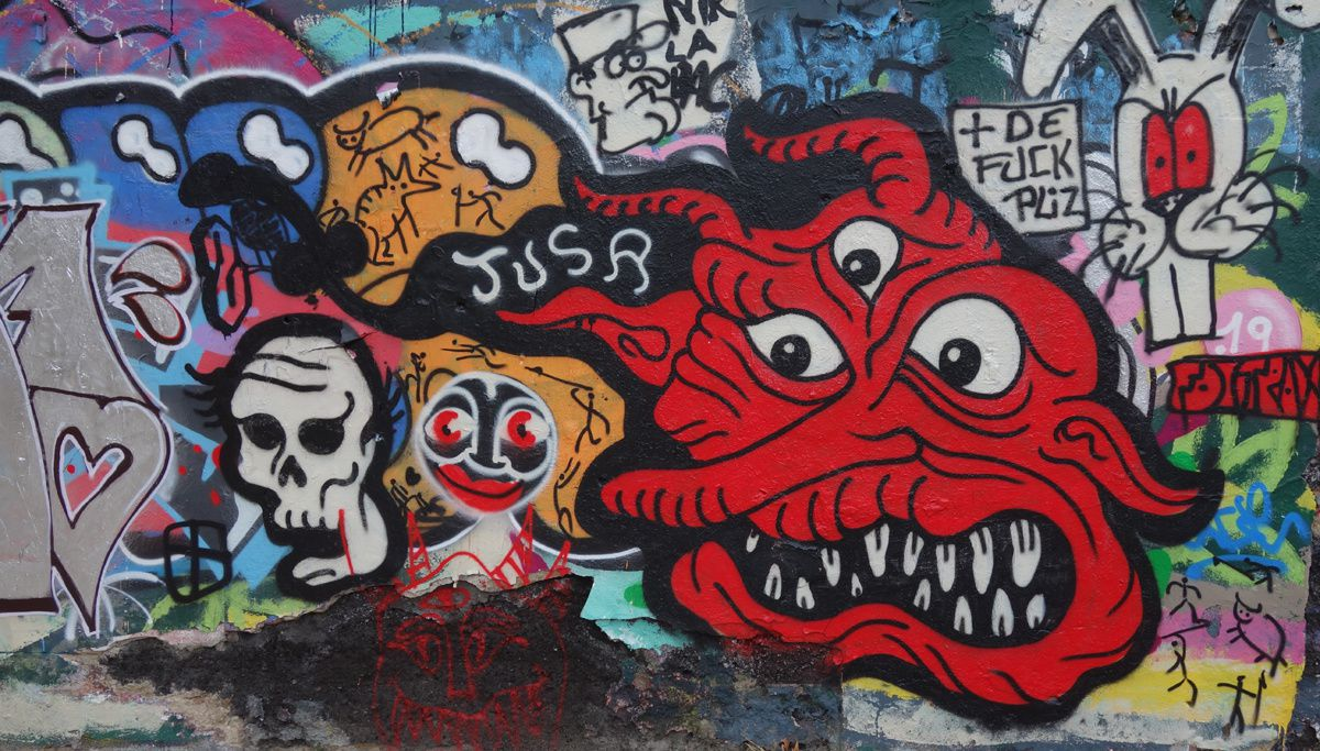Street Art : Graffitis & Fresques Murales 42218 Saint Etienne