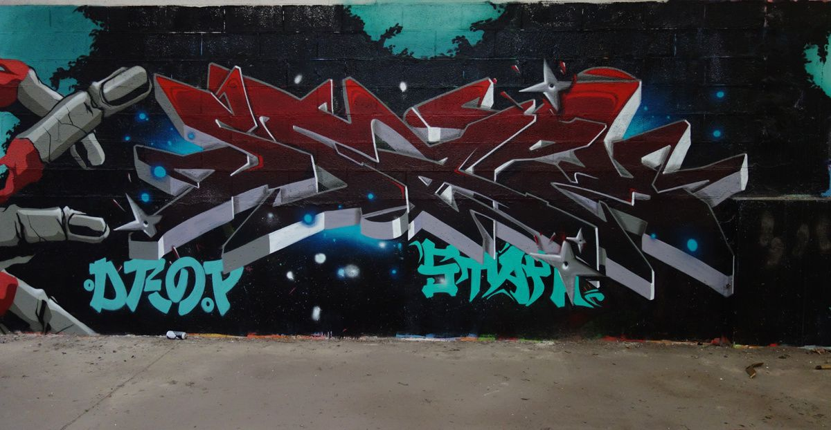 Street Art : Graffitis & Fresques Murales 42005 Andrezieux Boutheon