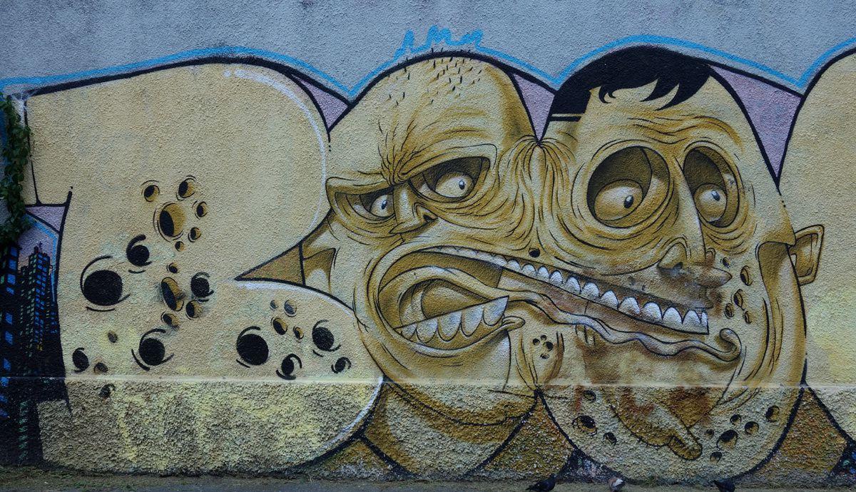 Street Art : Graffitis & Fresques Murales 20125 Milano ( Italy )