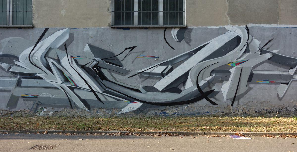 Street Art : Graffitis & Fresques Murales 20021 Bollate ( Italy )