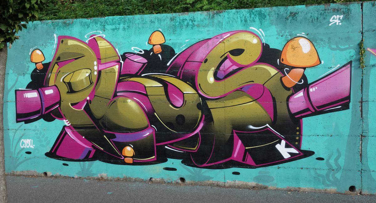 Street Art : Graffitis & Fresques Murales 20881 Bernareggio ( Italy )