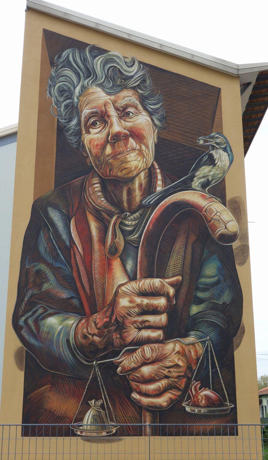 Street Art : Graffitis & Fresques Murales 25128 Brechia ( Italy )