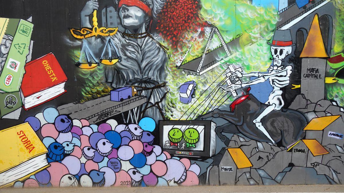 Street Art : Graffitis & Fresques Murales 25045 Castegnato ( Italy )