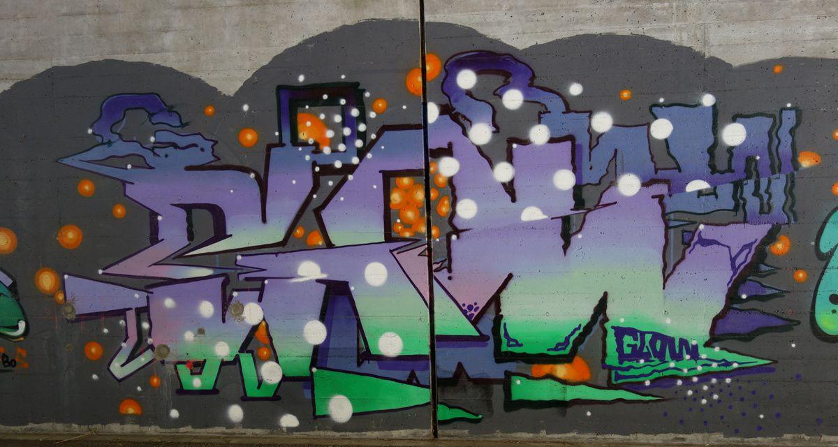 Street Art : Graffitis & Fresques Murales 6802 Bironico(Tessin Suisse)