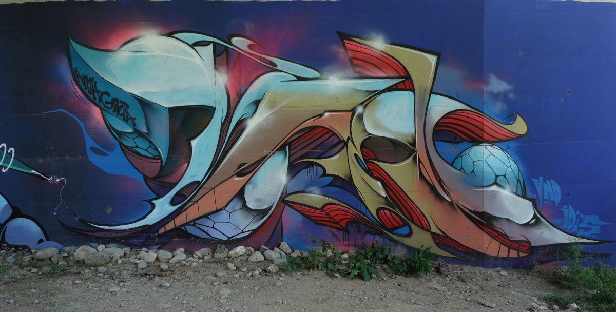 Street Art : Graffitis & Fresques Murales 6514 Sementina (Tessin Suisse)