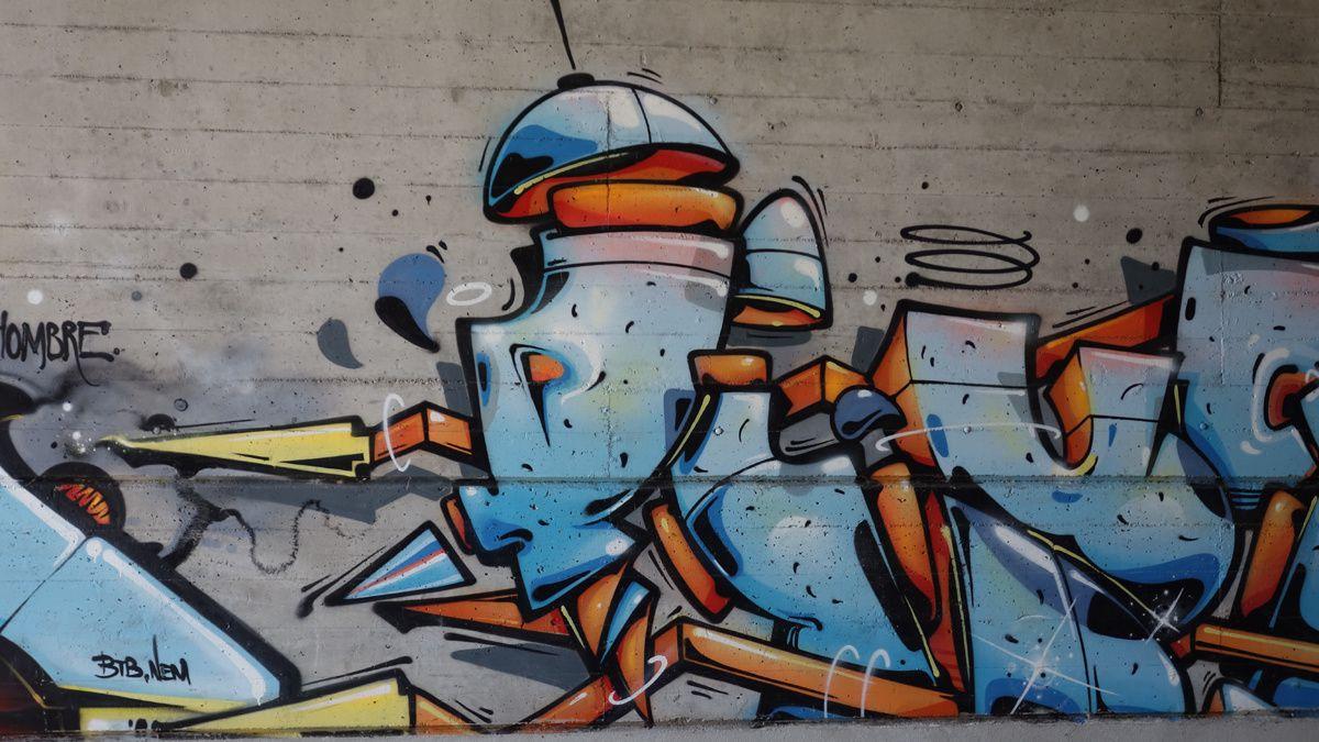 Street Art : Graffitis & Fresques Murales 6802 Rivera(Tessin Suisse)