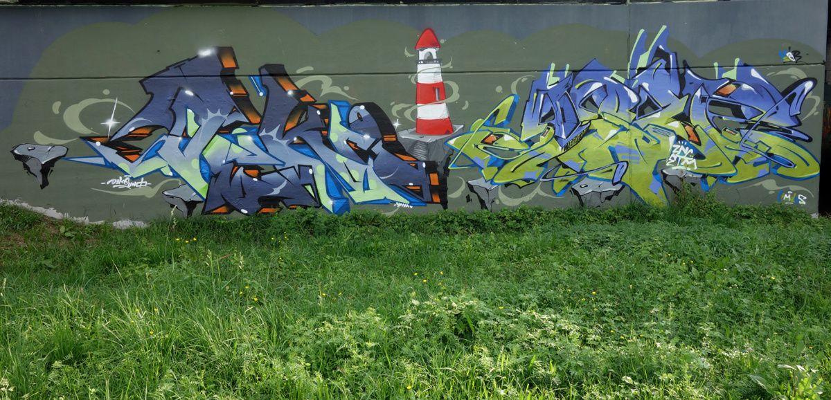 Street Art : Graffitis & Fresques Murales 6532 Castione(Tessin Suisse)