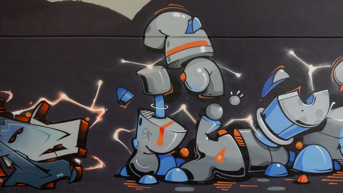 Album - Graffitis Suisse Tom 001