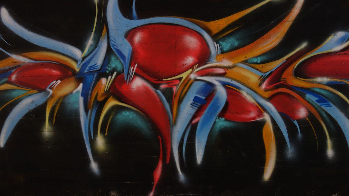 Street Art : Graffitis & Fresques Murales 6802 Rivera (Tessin Suisse)