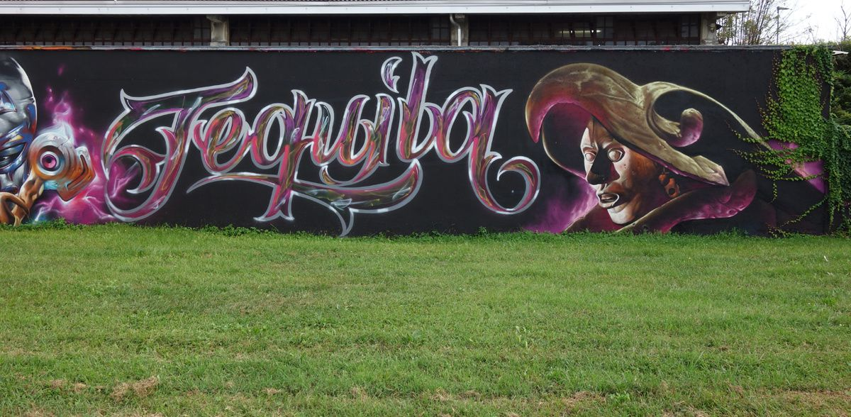 Street Art : Graffitis & Fresques Murales 20089 Rozzano ( Italy )
