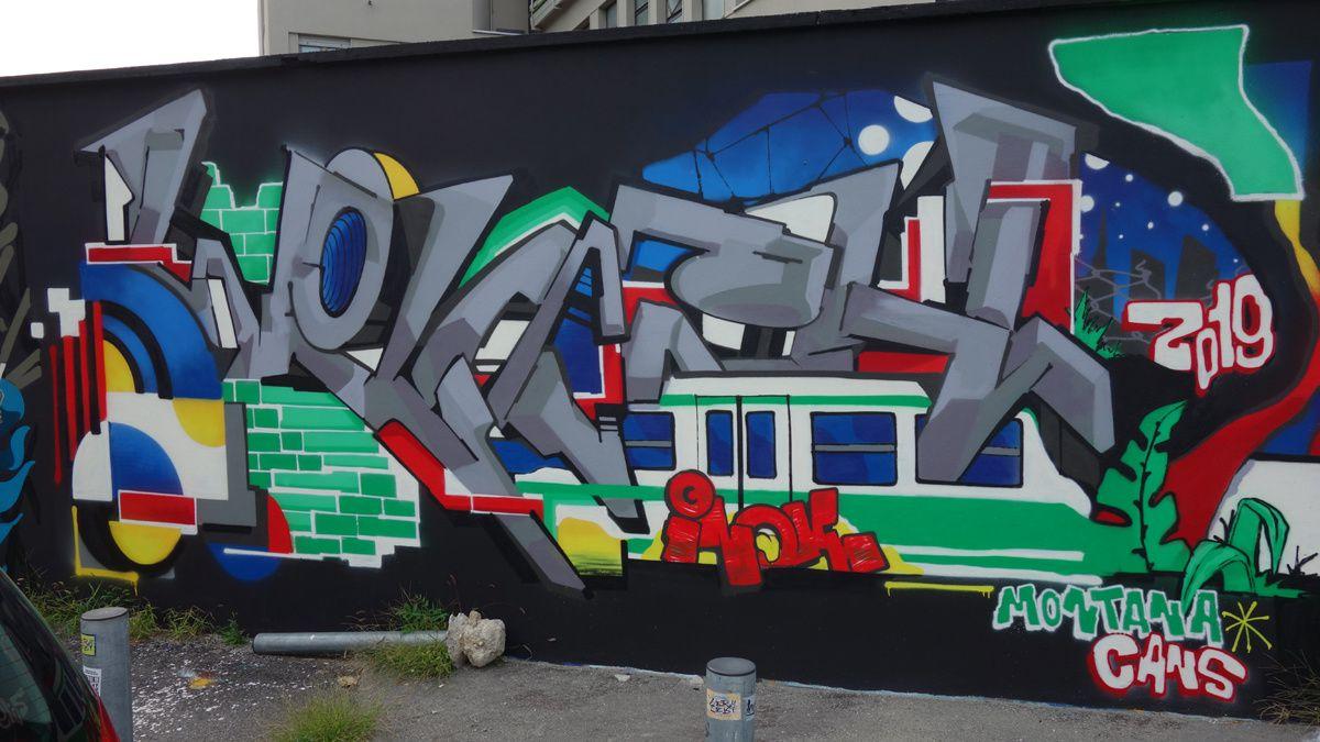Street Art : Graffitis & Fresques Murales 20141 Milano ( Italy )