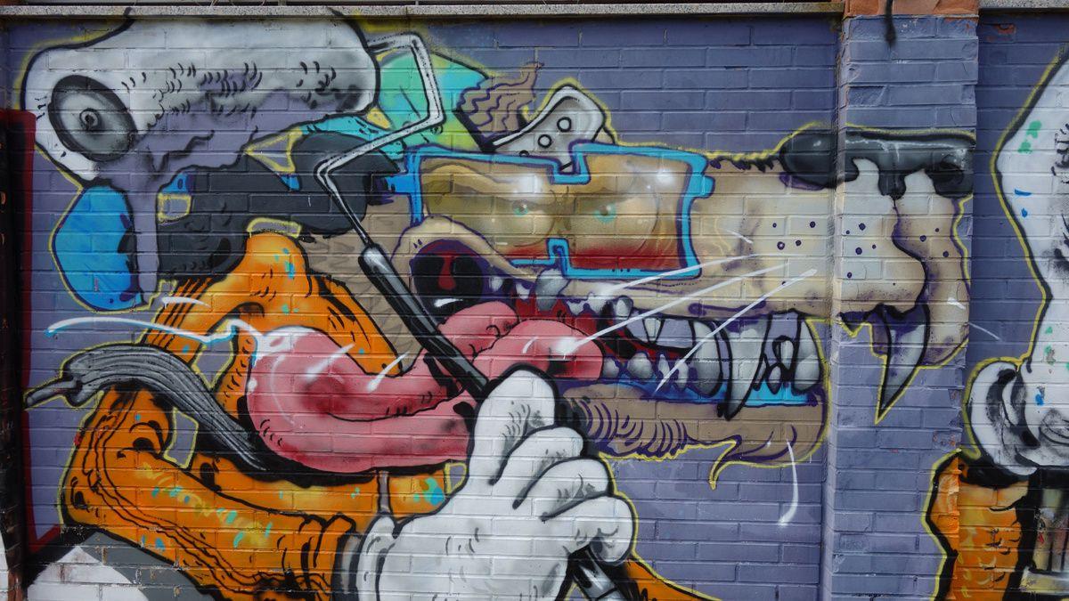 Street Art : Graffitis & Fresques Murales 20143 Milano ( Italy )