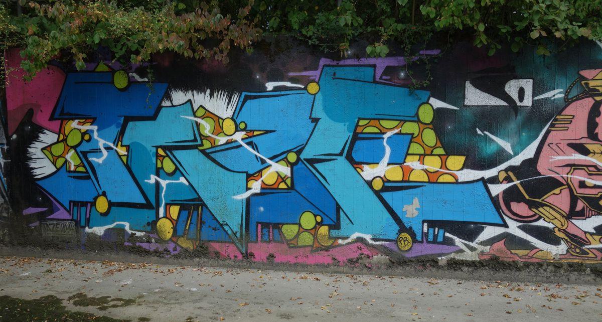 Street Art : Graffitis & Fresques Murales 1217 Meyrin (Suisse)