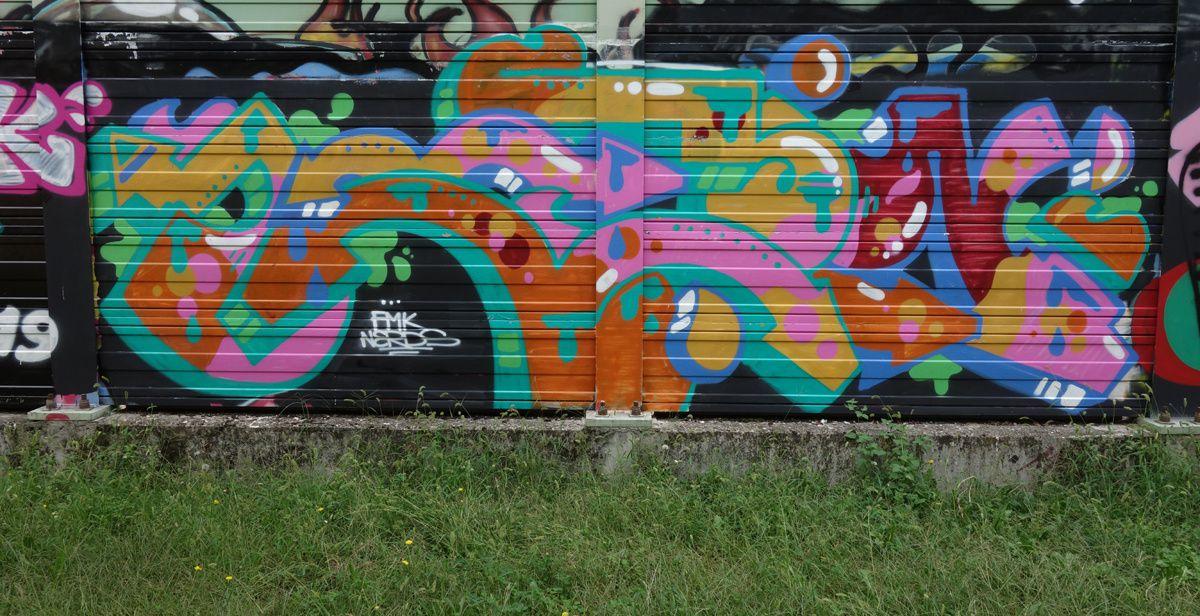 Street Art : Graffitis & Fresques Murales 20155 Milano (Italy)