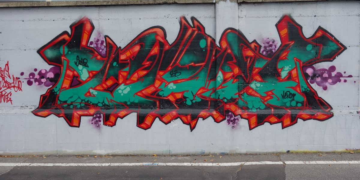 Street Art : Graffitis & Fresques Murales 20157 Milano ( Italy )