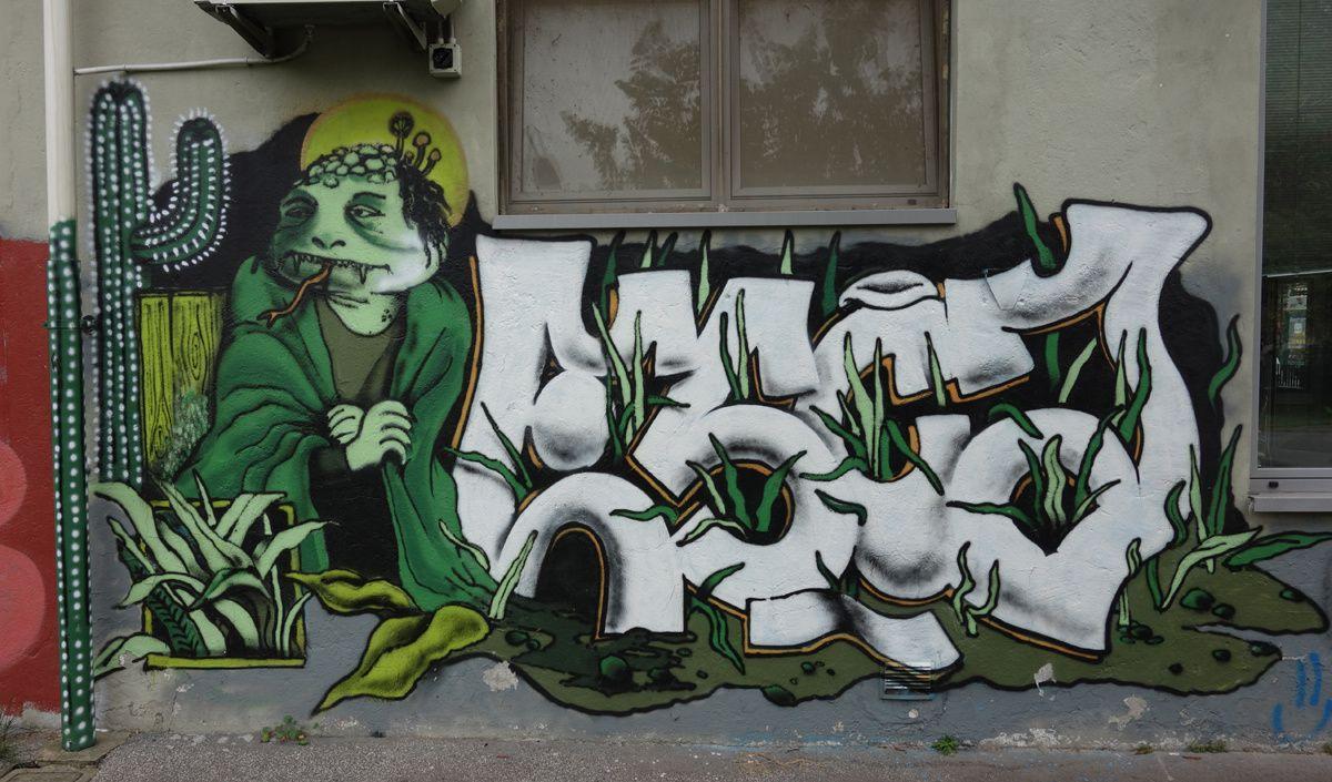 Street Art : Graffitis & Fresques Murales 20147 Milano ( Italy )
