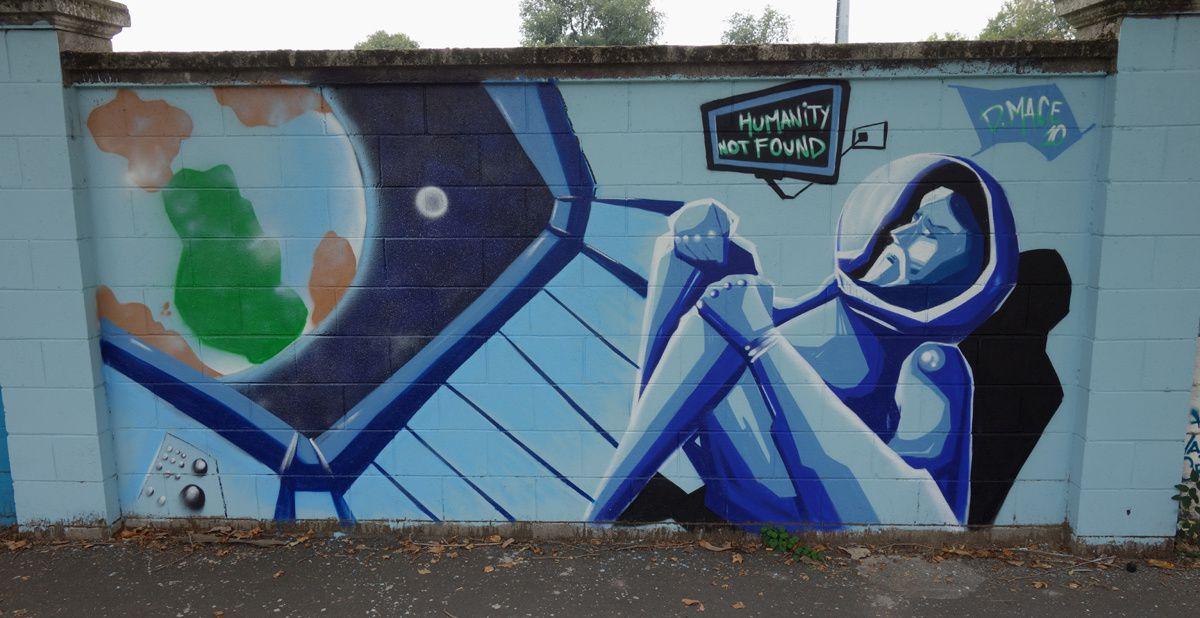Street Art : Graffitis & Fresques Murales 20148 Milano (Italy)