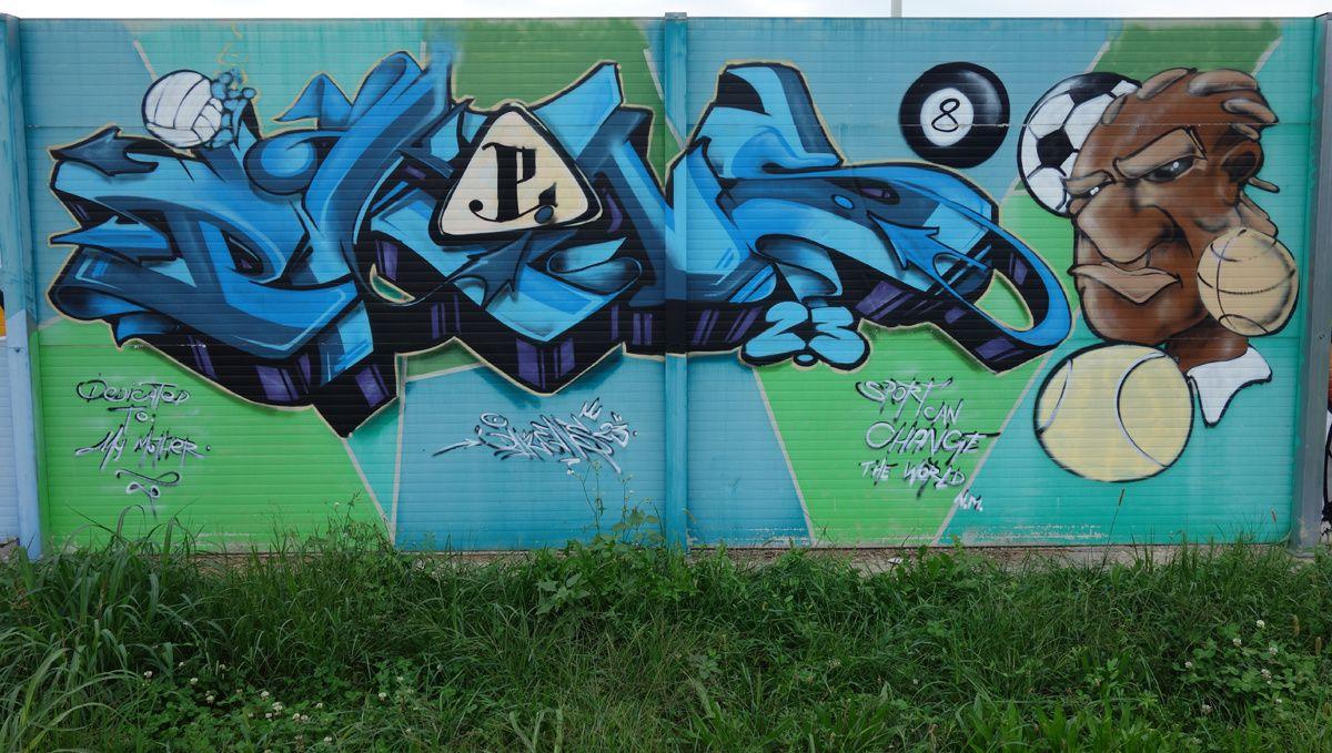Street Art : Graffitis & Fresques Murales 20151 Milano (Italy)