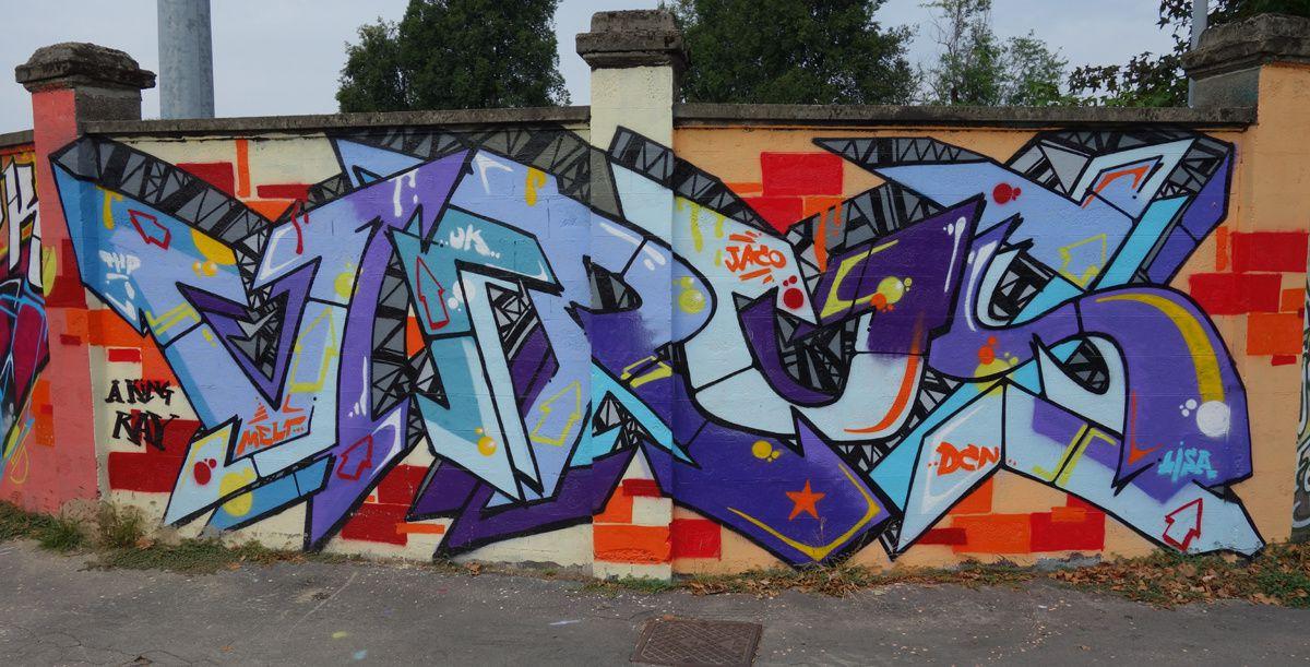 Street Art : Graffitis & Fresques Murales 20148 Milano ( Italy )