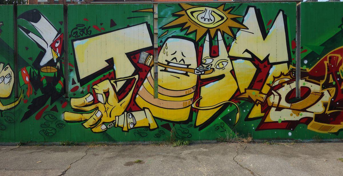 Street Art : Graffitis & Fresques Murales 10127 Turino ( Italy )
