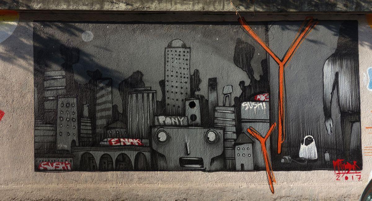 Street Art : Graffitis & Fresques Murales 10134 Turino ( Italy )