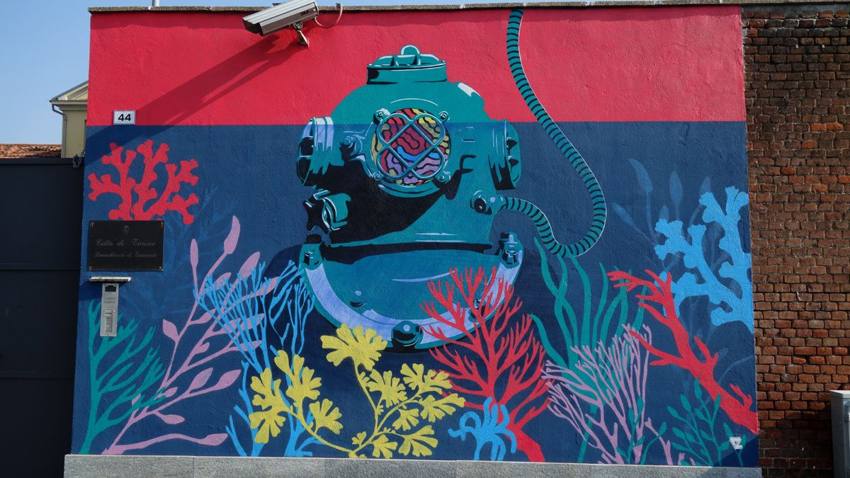 Street Art : Graffitis & Fresques Murales 10138 Turino ( Italy )