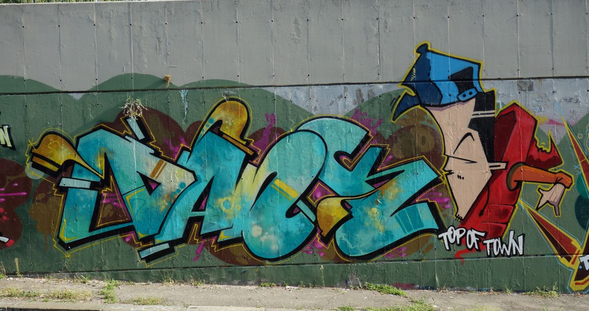 Street Art : Graffitis & Fresques Murales  10141 Turino ( Italy)