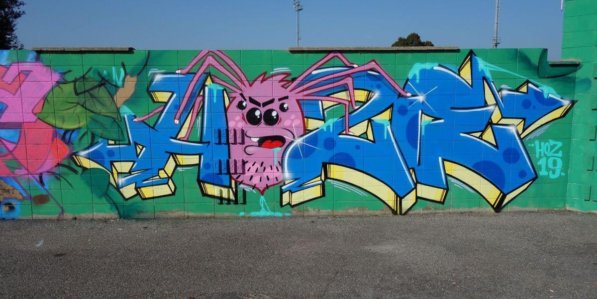 Street Art : Graffitis & Fresques Murales 20010 Arluno ( Italy )