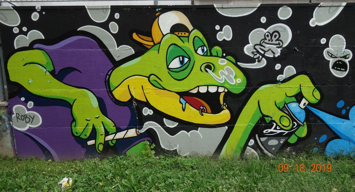 Street Art : Graffitis & Fresques Murales 20090 Cesano Boscone (Italy)
