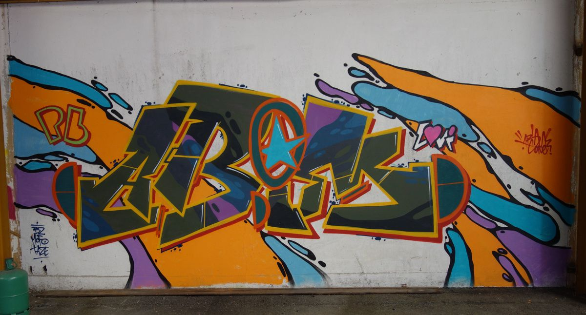 Street Art : Graffitis & Fresques Murales 38537 La Verpilliere
