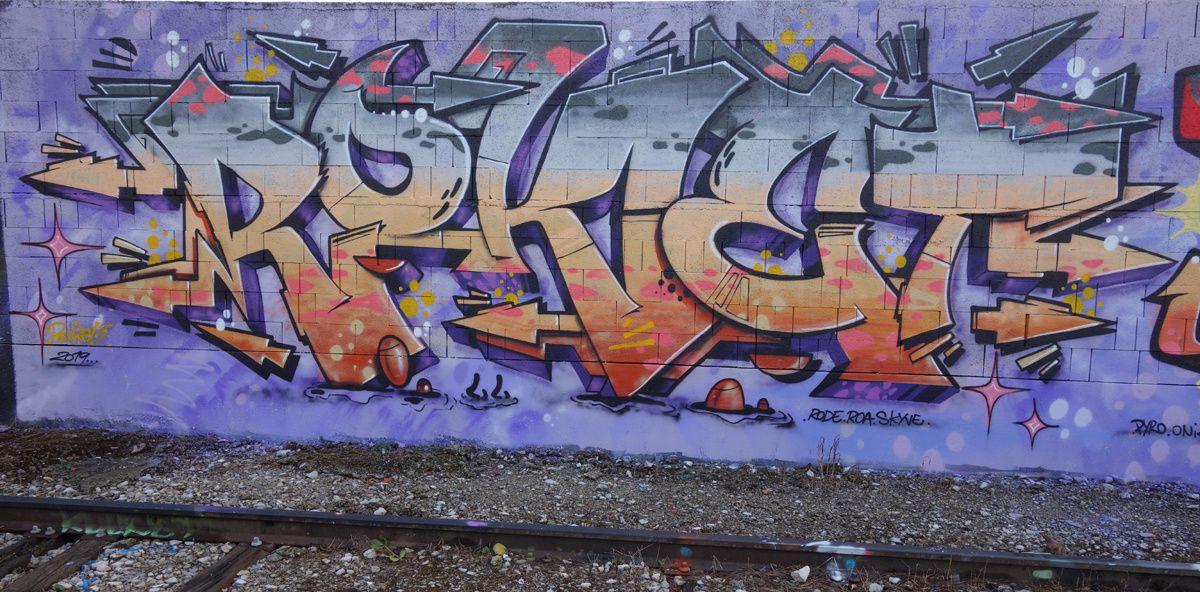 Street Art : Graffitis & Fresques Murales 73087 Cognin
