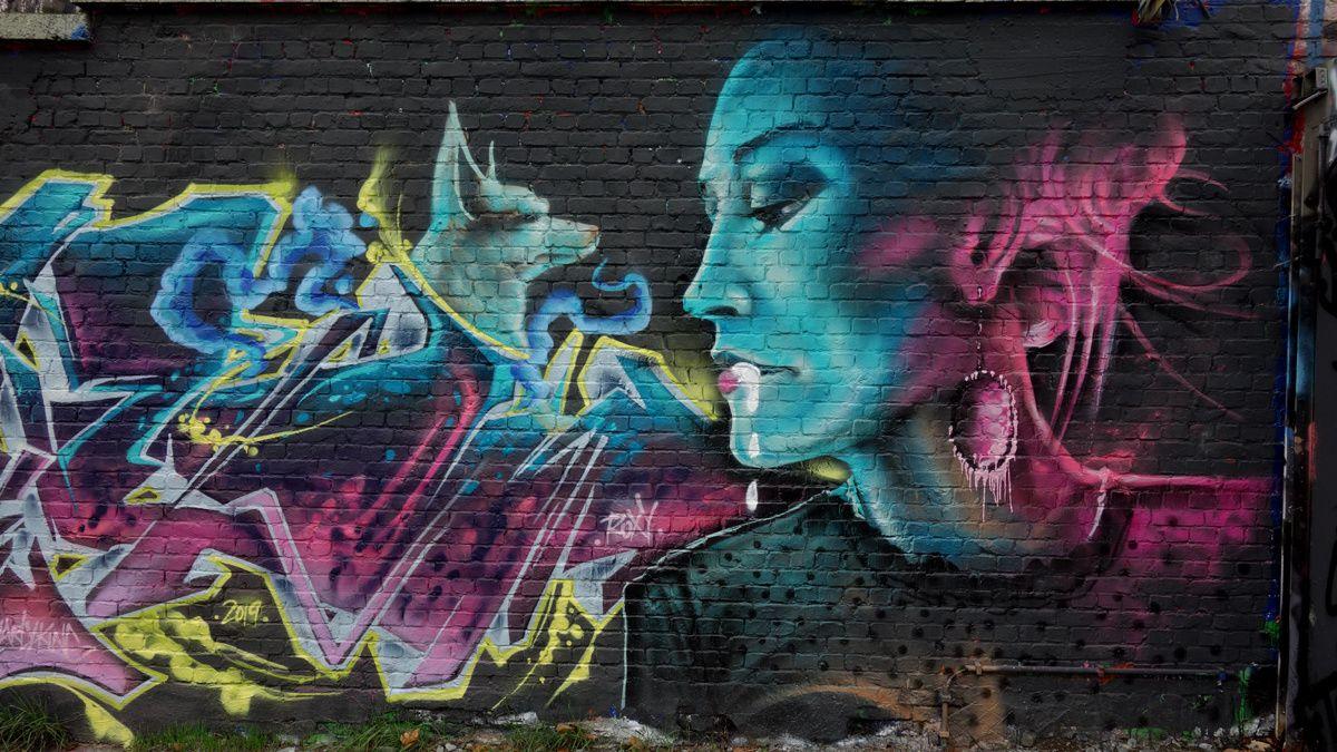 Street Art : Graffitis & Fresques Murales 1000 Bruxelles (Belgique)