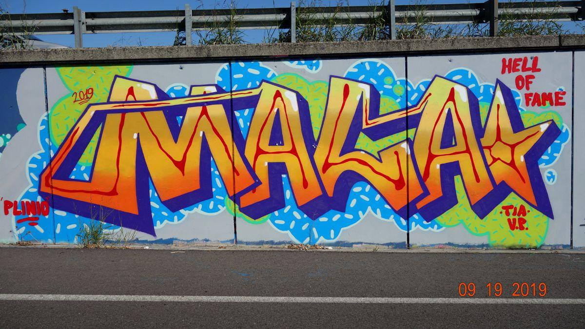 Street Art : Graffitis & Fresques Murales 27015 Landriano