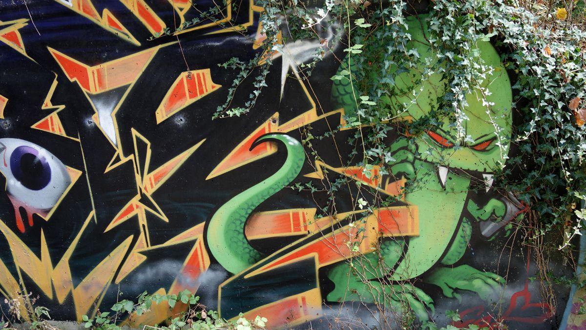 Street Art : Graffitis & Fresques Murales 38449 Saint Quentin Fallavier