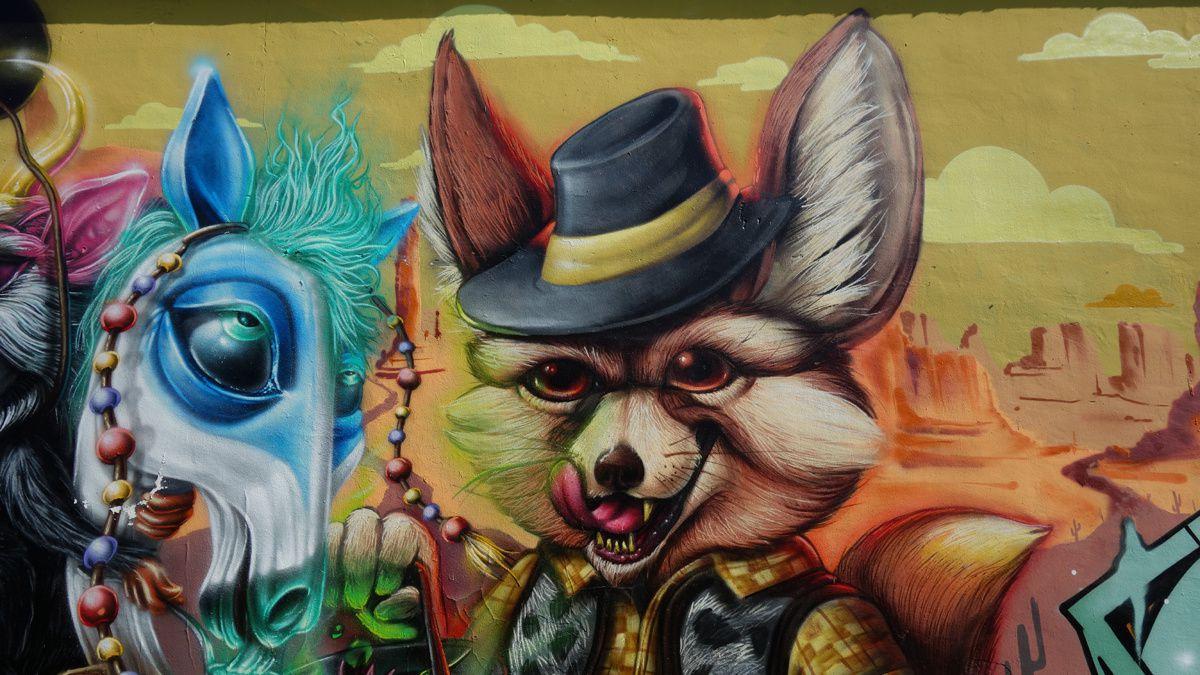 Street Art : Graffitis & Fresques Murales 10126 Turino