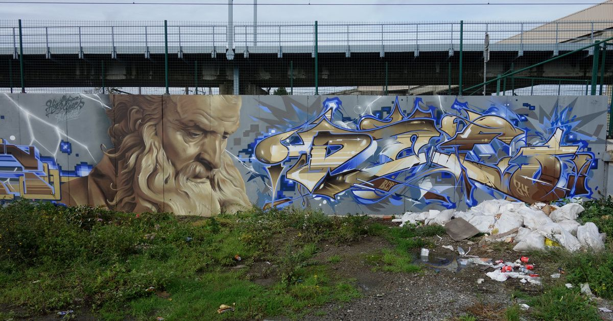 Street Art : Graffitis & Fresques Murales 1090 Forest (Belgique)