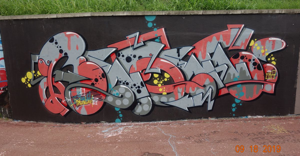 Street Art : Graffitis & Fresques Murales 20094 Corsico (Italy)