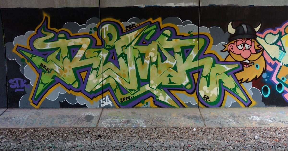 Street Art : Graffitis & Fresques Murales 38184 Grenay
