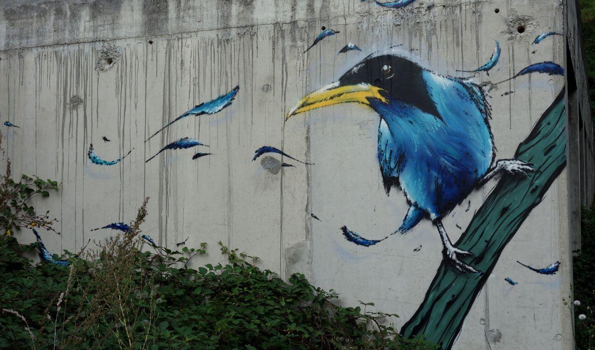 Street Art : Graffitis & Fresques Murales 43137 Monistrol sur Loire