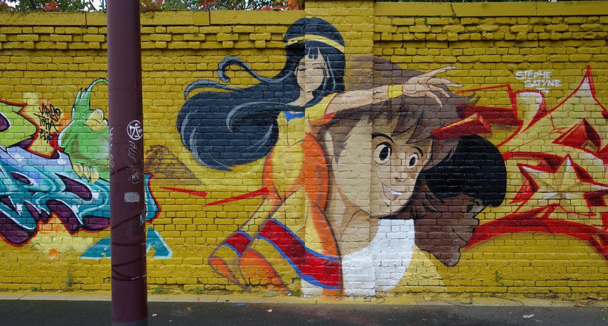 Street Art : Graffitis & Fresques Murales 59000 Lille