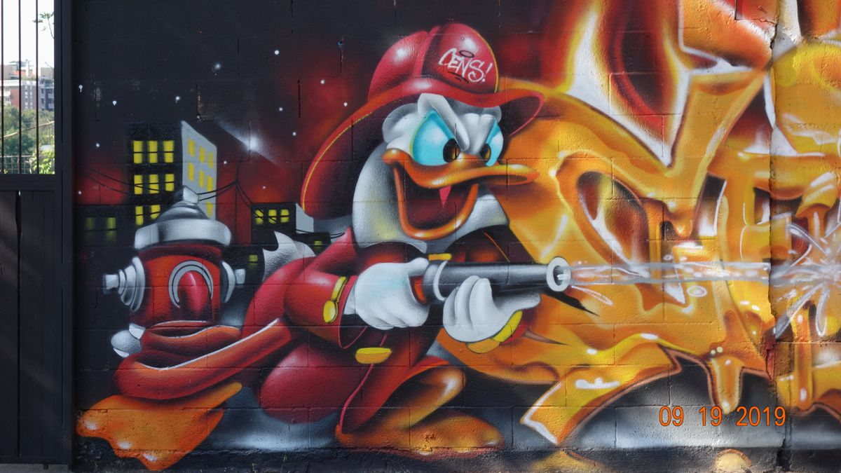 Street Art : Graffitis & Fresques Murales 20098 Guilliano Milanese (Italy)