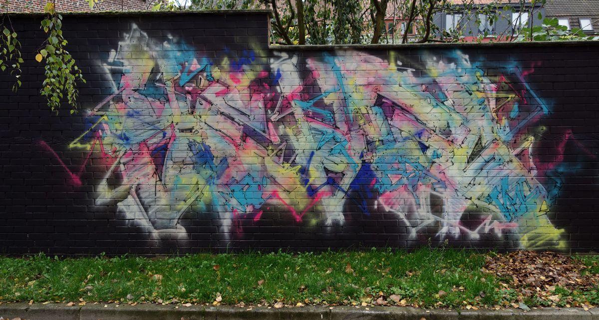 Street Art : Graffitis & Fresques Murales 59100 Roubaix