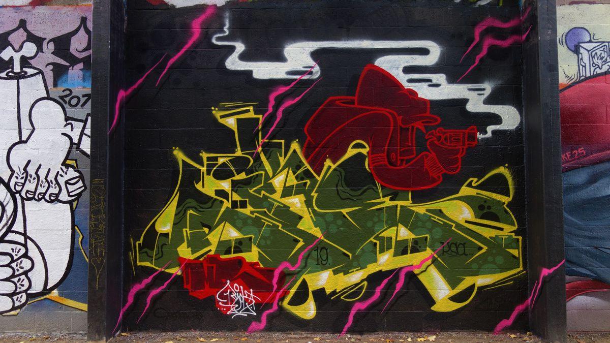 Street Art : Graffitis & Fresques Murales 1050 Ixelles (Belgique)