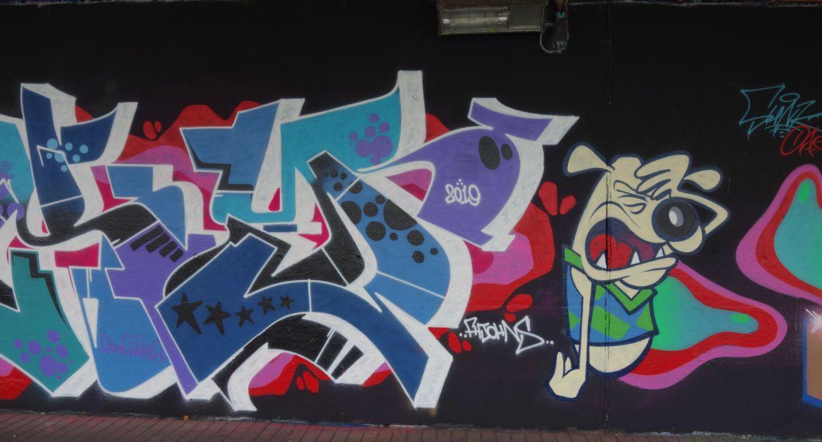 Street Art : Graffitis & Fresques Murales 2110 Wijnegem ( Belgique )