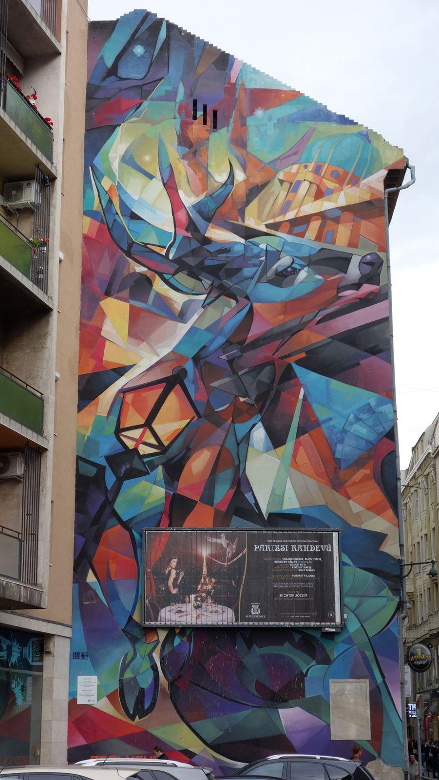 Street Art : Graffitis & Fresques Murales 1072 Budapest ( Hongrie )