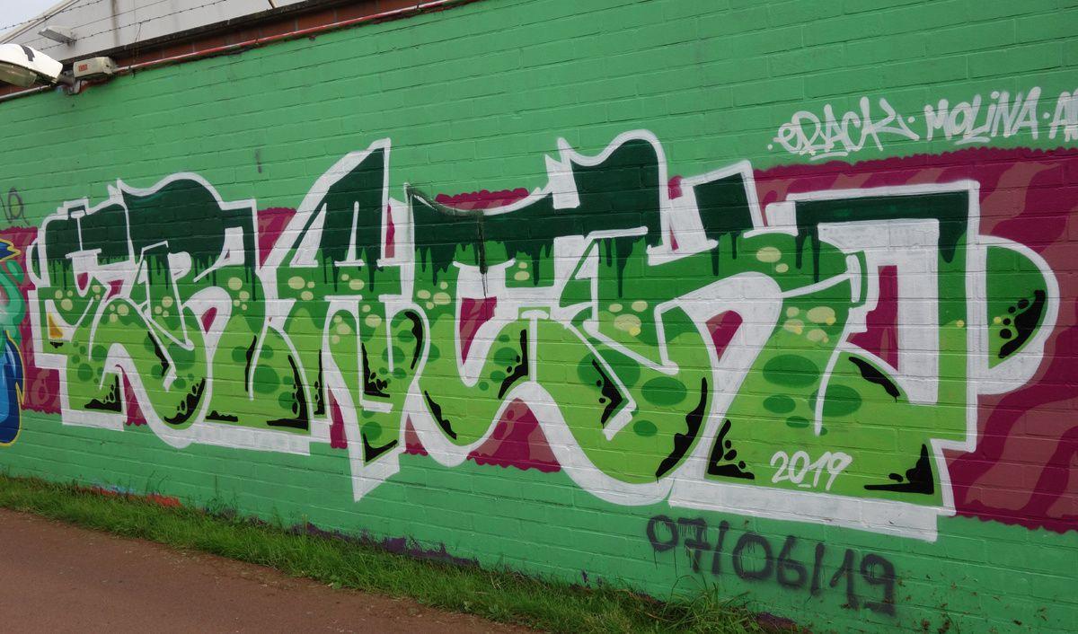 Street Art : Graffitis & Fresques Murales 2020 Antwerpen ( Belgique )