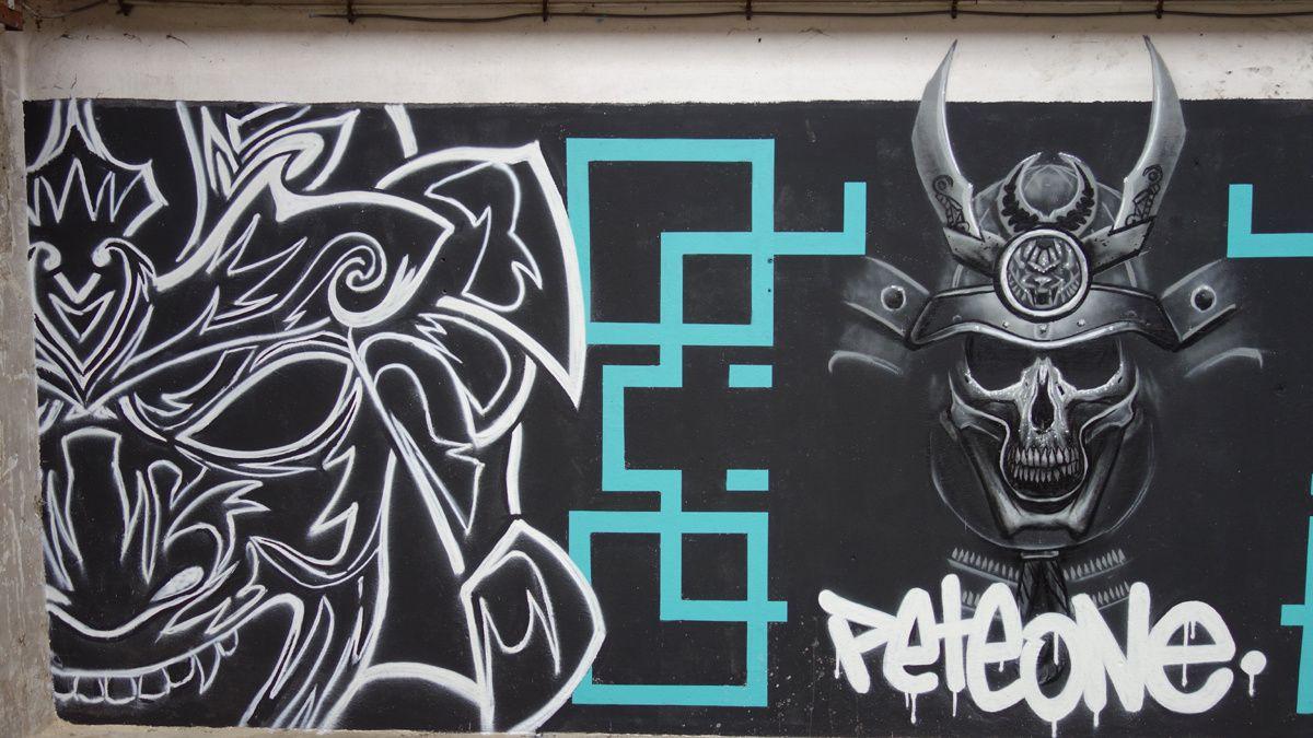 Street Art : Graffitis & Fresques Murales 8570 Anzegem ( Belgique )