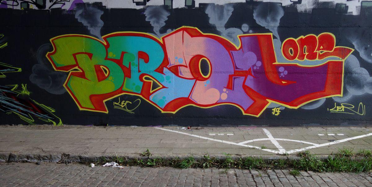 Street Art : Graffitis & Fresques Murales 1300 Wavre ( Belgique )